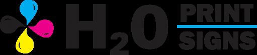 H2O Print | H2O Signs